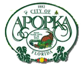 city apopka fl logo